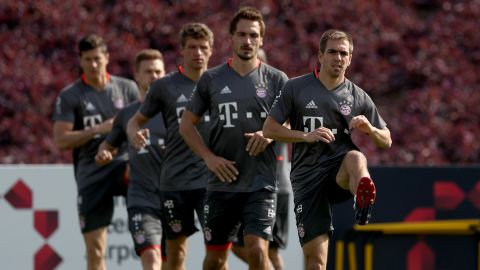 Lahm warns title rivals: 'Bayern will improve'