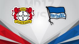 High-flying Hertha visit Leverkusen