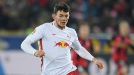 Leipzig's Burke relishing Rangers test