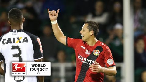 Watch: Chicharito sinks Atletico Mineiro