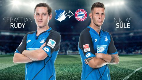 Bayern sign Hoffenheim duo Süle and Rudy