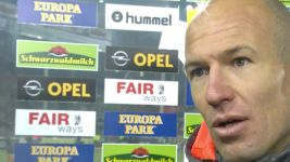 Watch: Robben: 'We didn't deserve it today'