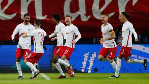Leipzig power past Frankfurt