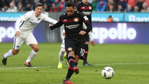 Watch: Leverkusen 3-1 Hertha - highlights
