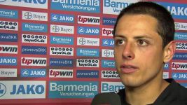 Watch: Chicharito: 'A very good performance'