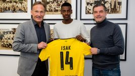 Isak joins Dortmund from Solna