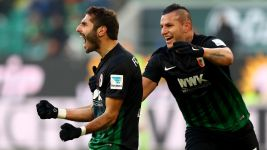 Augsburg fight back to beat Wolfsburg