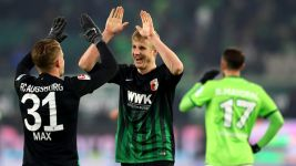 Watch: Wolfsburg 1-2 Augsburg - highlights