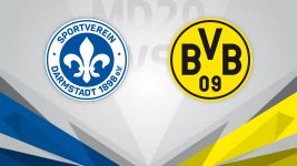 Dortmund target top three in Darmstadt
