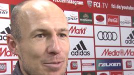 Watch: Robben: 'Something to celebrate'