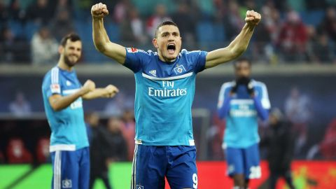 Hamburg vs Darmstadt: Line-ups and statistics