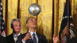 Barack Obama a Darmstadt fan?