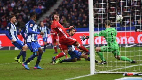 Hertha 1-1 Bayern | As it happened!