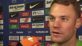 Watch: Neuer: 'Hertha draw feels like a win'