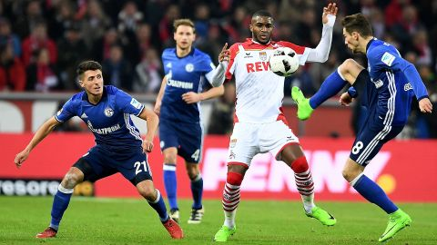 Modeste on target as Cologne hold Schalke