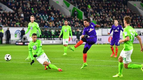 Watch: Wolfsburg 1-2 Bremen - highlights