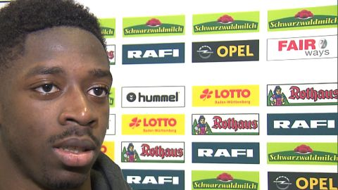 Watch: Dembele: 'We had the right approach'
