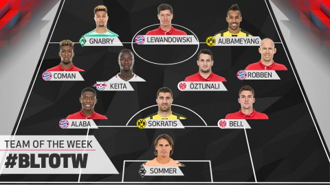Matchday 22: Team of the Week