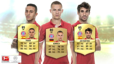 FUT 17 upgrades: Bayern's core