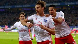 Hamburg leave it late against Hertha