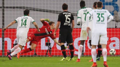 Watch: Leverkusen 1-1 Bremen - highlights