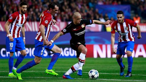 Atletico 0-0 Bayer (agg. 4-2) - as it happened