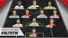 Watch: Matchday 25 Team of the Week