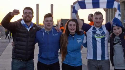 Hertha Berlin's British fan club