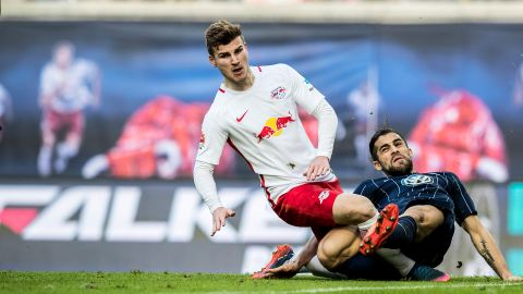 Leipzig's Werner suffers injury blow