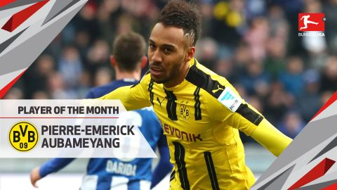 Player of the Month winner