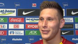 Watch: Süle: 'I just hit it!'