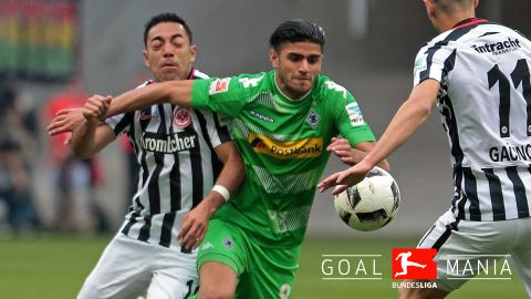 Marco Fabian denied as Gladbach hold Frankfurt