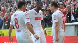 Cologne striker Modeste gets his own rap song