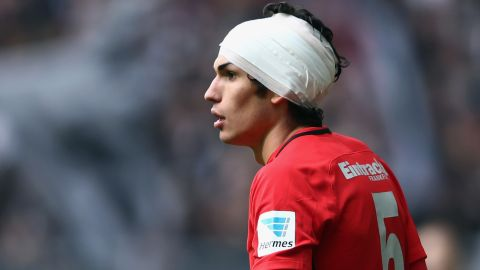 Frankfurt's Vallejo out for the rest of the season
