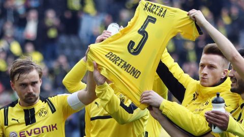 Watch: Dortmund 3-1 Frankfurt - highlights