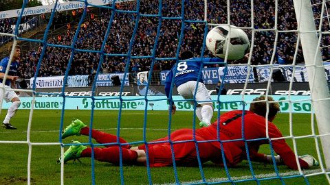 Watch: Darmstadt 2-1 Schalke - highlights