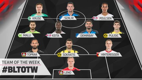Matchday 29: Team of the Week