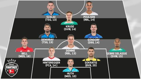 Official Fantasy Bundesliga: MD29 Team of the Week
