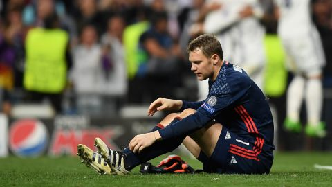 Season over for Neuer