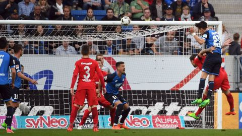 Watch: Hoffenheim 1-0 Frankfurt - highlights
