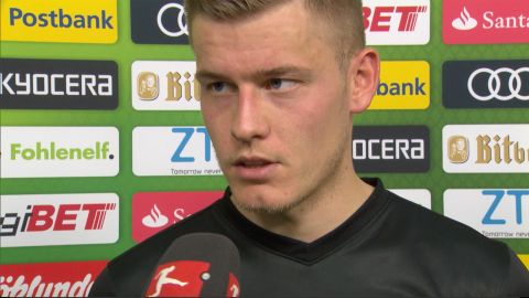 "Watch: Finnbogason: ""Have to live with the point"""