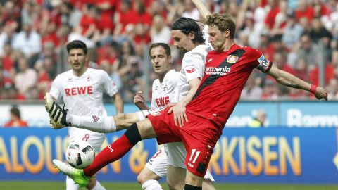 Bayer safe after Cologne draw