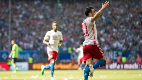 Hamburg beat Wolfsburg to stay up - as it happened