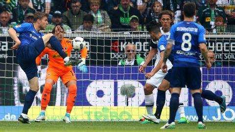 Watch: Gladbach 2-2 Darmstadt - highlights