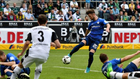 Heller snatches late draw for Darmstadt