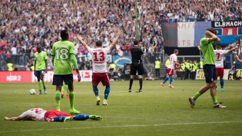 Watch: Hamburg 2-1 Wolfsburg - highlights