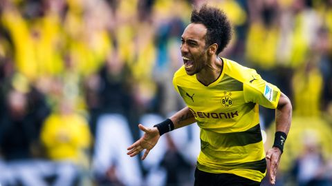 Watch: Aubameyang's 2016/17 Bundesliga goals