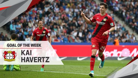 Watch: Havertz wins MD34 Goal of the Week
