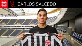 Frankfurt strike Salcedo loan deal