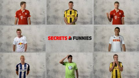 Bundesliga secrets and funnies: Parts 1-6